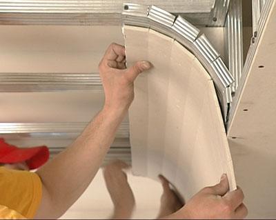 Отделка потолка из гипсокартона своими руками фото
