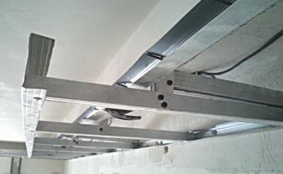 Подвесные потолки своими руками с подсветкой
